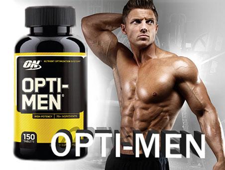Opti Men - вітаміни для справжніх чоловіків