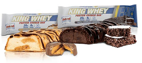 onnie Coleman King Whey Protein Bar